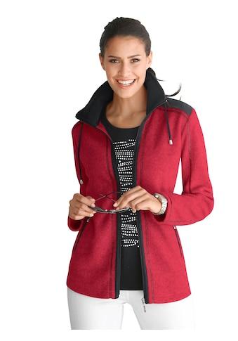 Casual Looks Fleece - Jacke in flauschiger Qualität kaufen