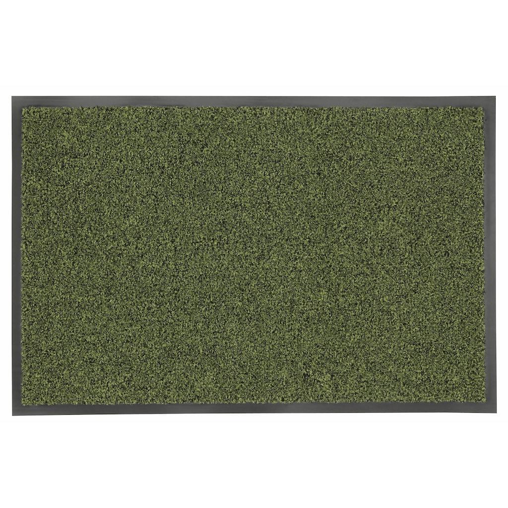 HANSE Home Fussmatte »Green&Clean«, rechteckig, 8 mm Höhe, Fussabstreifer, Fussabtreter, Schmutzfangläufer, Schmutzfangmatte, Schmutzfangteppich, Schmutzmatte, Türmatte, Türvorleger, rechteckig