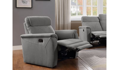 ATLANTIC home collection Relaxsessel »Stefan«, mit Relaxfunktion, Taschenfederkern und eleganten Ziernähten kaufen