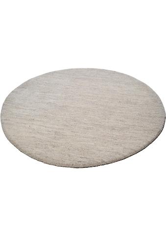 THEKO Wollteppich »Amravati«, rund, 28 mm Höhe, reine Wolle, echter Berber, handgeknüpft, Wohnzimmer kaufen