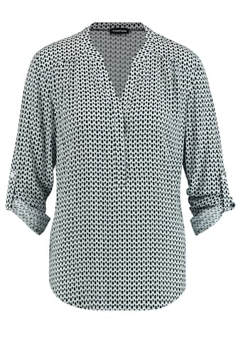 Taifun Klassische Bluse »Bluse mit Allover - Print« kaufen