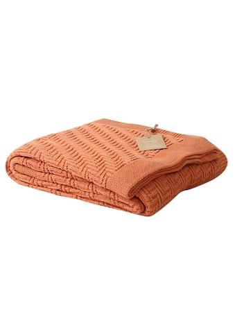 Wohndecke »aus Baumwolle 170130« kaufen