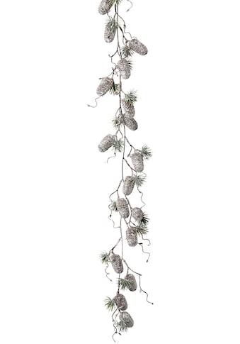 LeGer Home by Lena Gercke Kunstgirlande »Jade«, mit Zapfen in gefrosteter Optik, Länge... kaufen