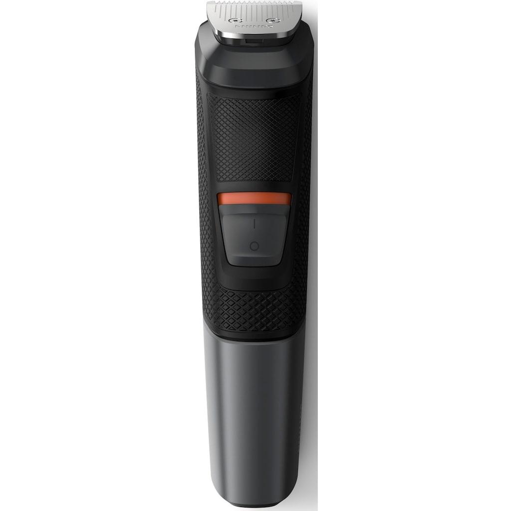 Philips Multifunktionstrimmer »Series 5000 MG5720/15«, 9 Aufsätze, Multigroom, 9-in-1 Trimmer, Gesicht, Körper, Haare