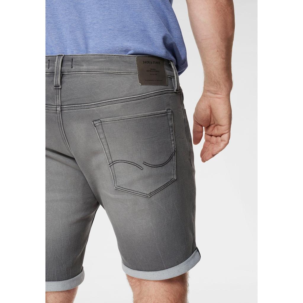 Jack & Jones Jeansshorts »RICK CON SHORTS«, bis Jeans Grösse 48 (grosse Grössen)