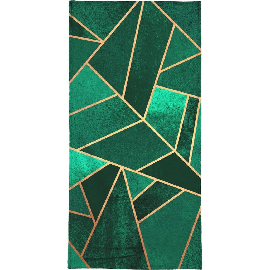 """Handtuch """"Emerald and Copper"""", Juniqe"""