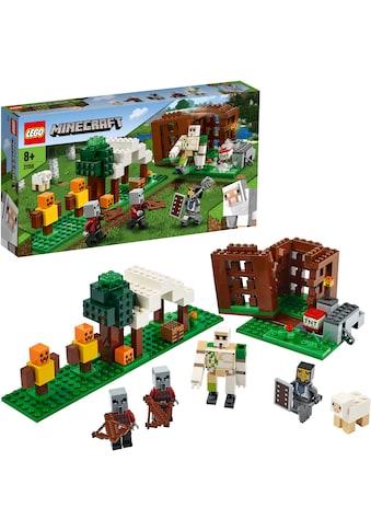 LEGO® Konstruktionsspielsteine »Der Plünderer-Aussenposten (21159), LEGO® Minecraft™«, (303 St.), Made in Europe kaufen
