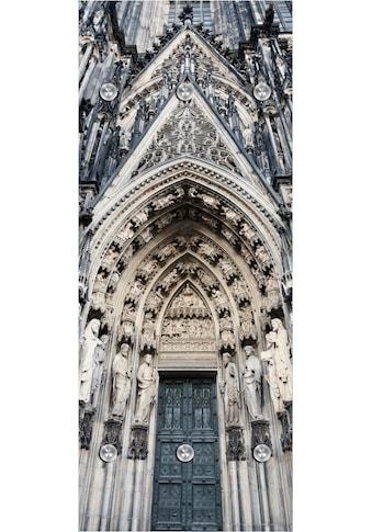 queence Garderobenpaneel »Kathedrale«, mit 6 Haken, 50 x 120 cm kaufen