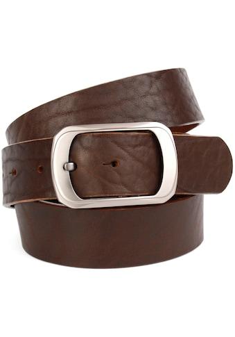 Anthoni Crown Ledergürtel, mit Oberflächennarbung kaufen