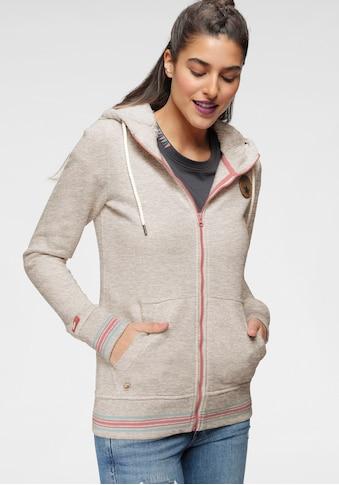 Ocean Sportswear Kapuzensweatjacke, in Melange-Optik kaufen