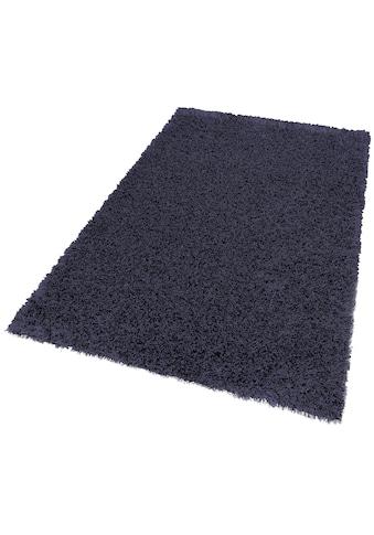 Hochflor - Teppich, »Feeling«, SCHÖNER WOHNEN - Kollektion, rechteckig, Höhe 55 mm, handgetuftet kaufen