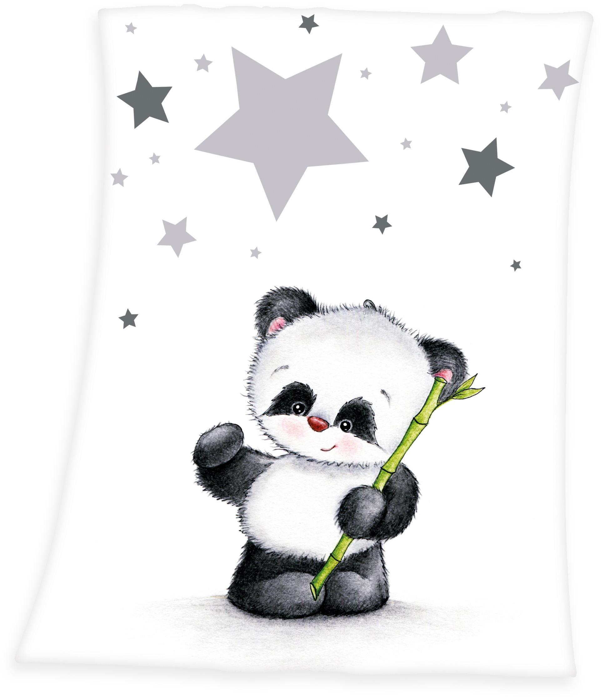 Image of Babydecke »Fynn Panda«, Baby Best