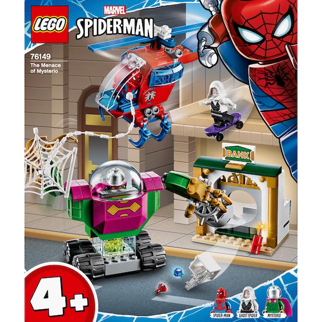 "LEGO® Konstruktionsspielsteine ""Mysterios Bedrohung (76149), LEGO® Marvel Super Heroes"", Kunststoff, (163-tlg.)"