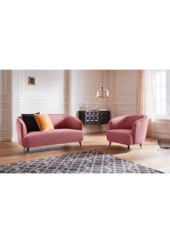 Guido Maria Kretschmer Home&Living 2-Sitzer »Oradea«, mit eleganter Steppung auf... kaufen