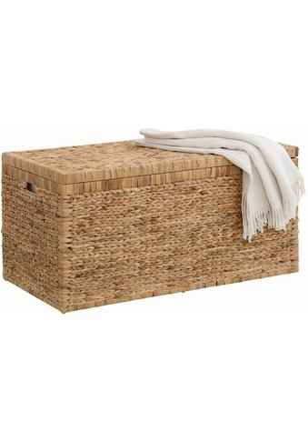 Home affaire Truhe, innen mit Baumwolle bespannt kaufen
