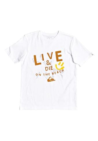 Quiksilver T - Shirt »Illusions Of Order« acheter