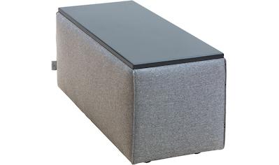 TOM TAILOR Tischelement »ELEMENTS«, Tischplatte schwarz, als Couchtisch oder Sofaelement einsetzbar kaufen