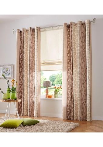 my home Vorhang »Gosen«, Gardine, Fertiggardine, blickdicht kaufen