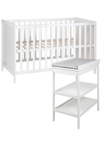 roba® Babymöbel-Set »Style«, (Spar-Set, 2 tlg.), mit Wickelregal kaufen