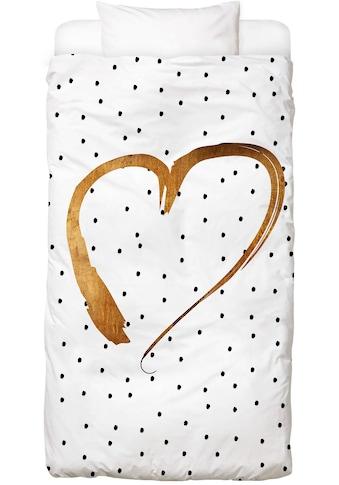 Bettwäsche »Heart 1«, Juniqe kaufen