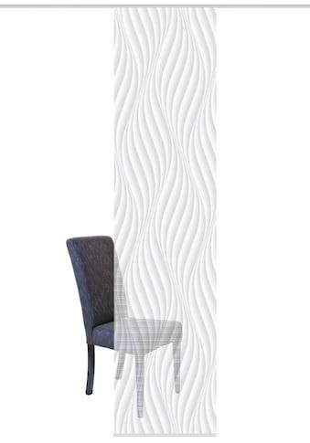 Vision S Schiebegardine »WAVE«, HxB: 260x60, Schiebevorhang Bambusoptik Digitaldruck kaufen