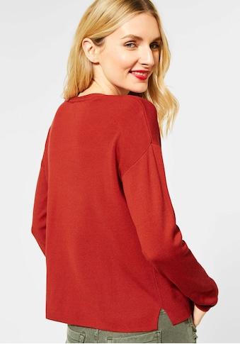 STREET ONE V - Ausschnitt - Pullover »Coralie« kaufen