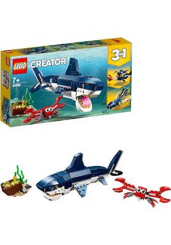 LEGO® Konstruktionsspielsteine »Bewohner der Tiefsee (31088), LEGO® Creator«, (230 St.), Made in Europe kaufen