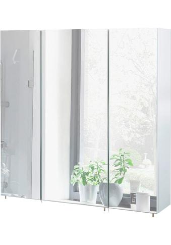 Schildmeyer Spiegelschrank »Basic«, Breite 70 cm, 3-türig, Glaseinlegeböden, Made in Germany kaufen