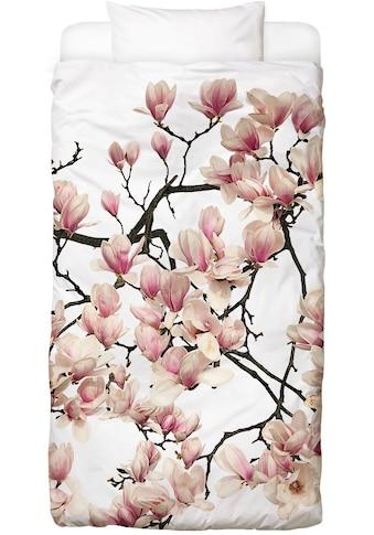 Juniqe Bettwäsche »Flora - Magnolie«, In vielen weiteren Designs erhältlich kaufen