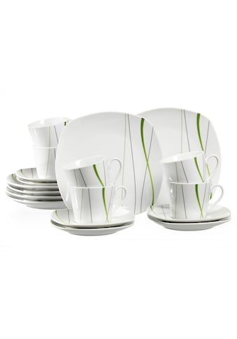 Ritzenhoff & Breker Kaffeeservice »GRACE«, (Set, 18 tlg.), Spülmaschinengeeignet kaufen