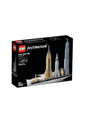 """LEGO® Konstruktionsspielsteine """"New York City (21028), LEGO® Architecture"""", Kunststoff, (598 - tlg.) kaufen"""