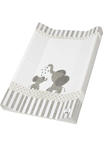 Rotho Babydesign Wickelauflage »Modern Elephants«, Keilform; Made in Europe kaufen