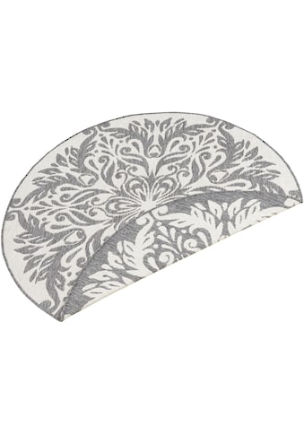 bougari Teppich »Madrid«, rund, 5 mm Höhe, In- und Outdoor geeignet, Wendeteppich, Wohnzimmer kaufen