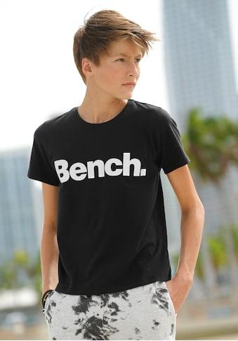 Bench. T-Shirt, mit Logodruck kaufen