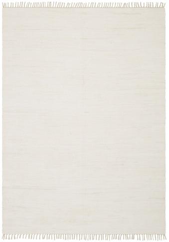 Teppich, »Handweb Uni«, Home affaire, rechteckig, Höhe 5 mm, handgewebt acheter