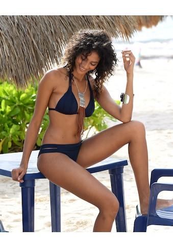 s.Oliver Beachwear Triangel-Bikini-Top »Spain«, mit Raffung und Doppelträger kaufen