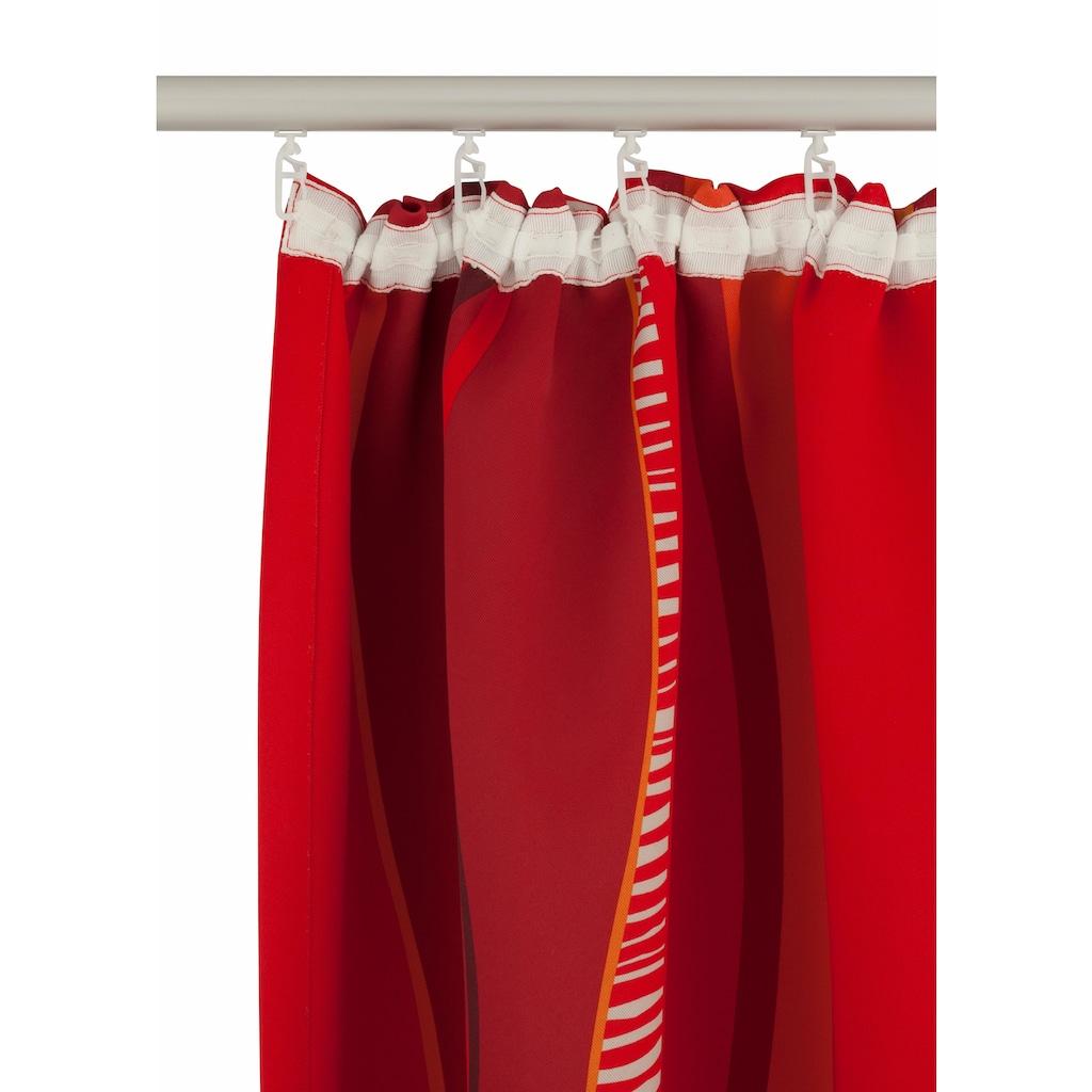 my home Verdunkelungsvorhang »Tinos«, Vorhang, Fertiggardine, Gardine, Breite 270 cm = 1 Stück --- Breite 130 cm = 2 Stück, verdunkelnd