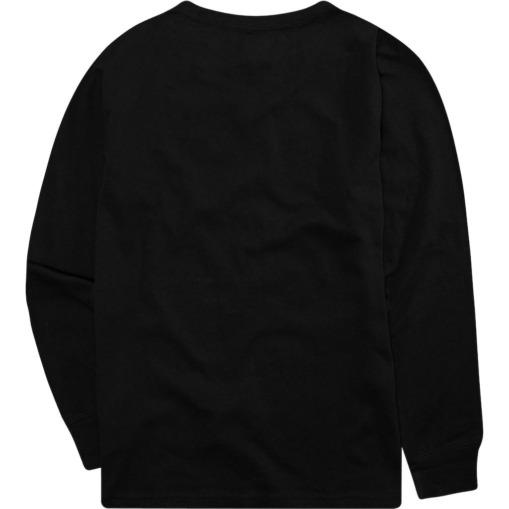 Levi's Kidswear Langarmshirt »LVB L/S BATWING TEE«
