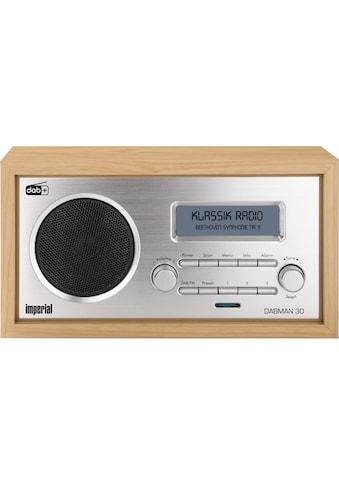 DAB+ Radio, Imperial, »Dabman 30 Braun« kaufen