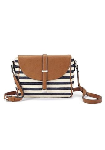 LASCANA Umhängetasche, Minibag mit Streifen kaufen