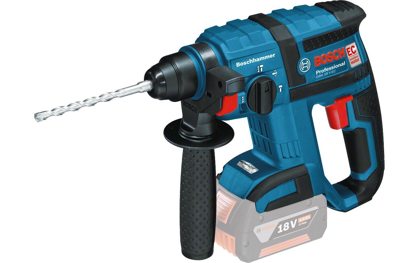 Image of Akku-Bohrhammer, Bosch Professional, »GBH 18V-EC Solo, L-Boxx«