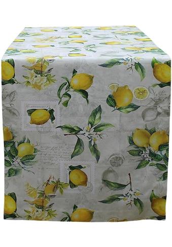 Tischläufer, »32433 Zitrone«, HOSSNER  -  HOMECOLLECTION (1 - tlg.) acheter