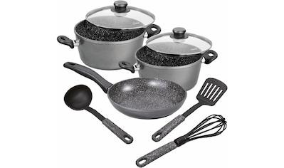 STONELINE Topf-Set, Aluminium, (Set, 8 tlg.), Induktion kaufen