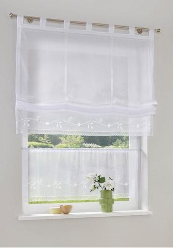 Raffrollo »Idaho«, my home, mit Klettband kaufen