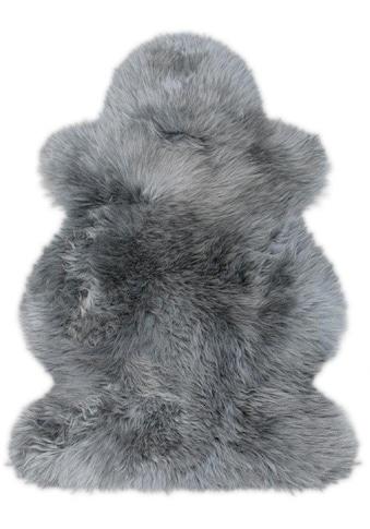 Heitmann Felle Fellteppich »Lammfell farbig«, fellförmig, 70 mm Höhe, echtes Austral. Lammfell, Wohnzimmer kaufen