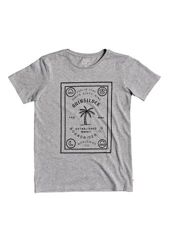 Quiksilver T - Shirt »Bad Liar« kaufen