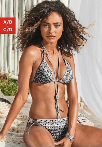JETTE Triangel-Bikini, mit Hose zum Binden kaufen