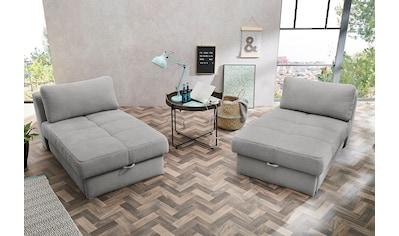 Jockenhöfer Gruppe Schlafsofa, inklusive Bettfunktion und Bettkasten, mit Federkern und loser Rückenkissen, frei im Raum stellbar kaufen