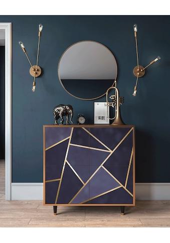 Places of Style Kommode »Amethist«, mit dekorativem Print auf den Türen kaufen