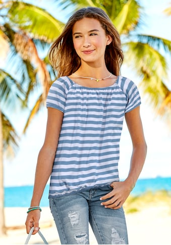Arizona Carmenshirt, in bequemer Weite kaufen